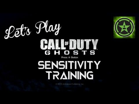 Let's Play - Call Of Duty: Ghosts - Sensitivity Training