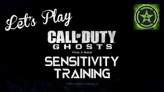 Lets Play - Call of Duty: Ghosts - Sensitivity Training