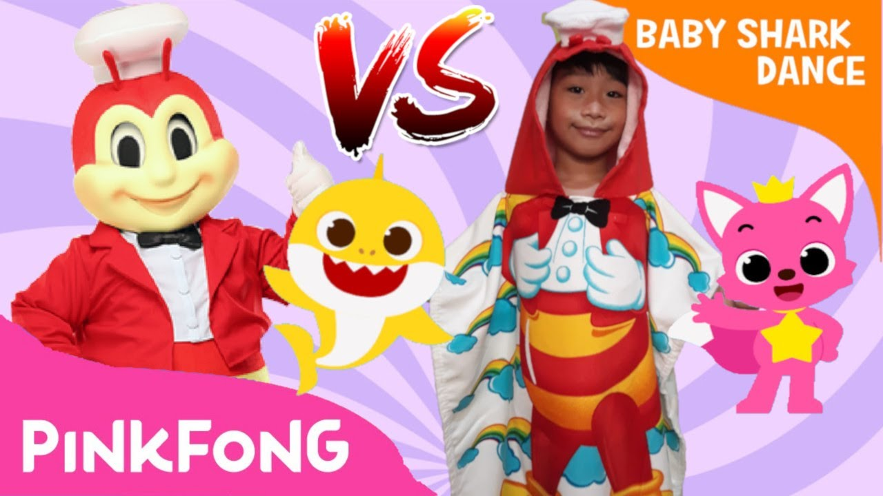 Baby Shark Dance Battle | Baby Shark Challenge | Jollibee ...