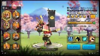 Rise of Civilizations - Tướng Minimoto no Yoshitsune - Cách chơi như thế nào ?