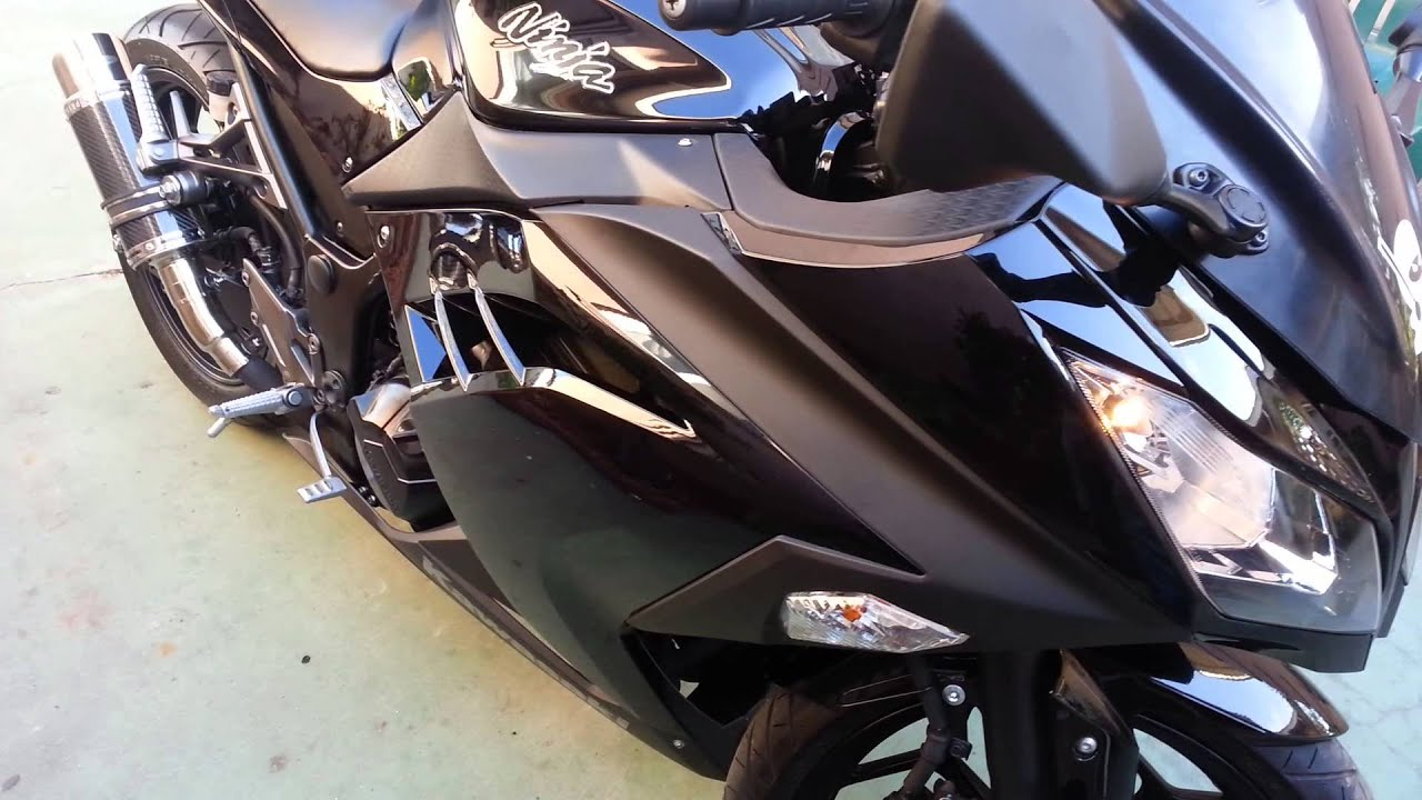 2013 kawasaki ninja 300 mods youtube