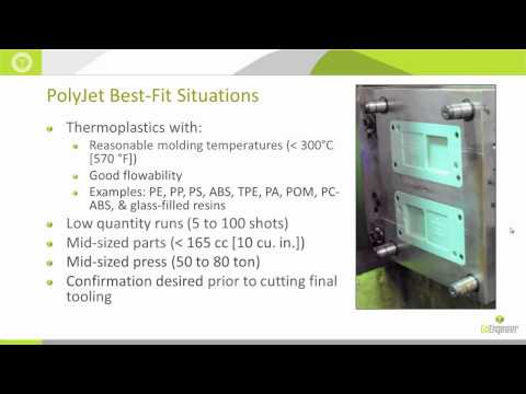 Stratasys - 3D Printing 201: Injection Molding