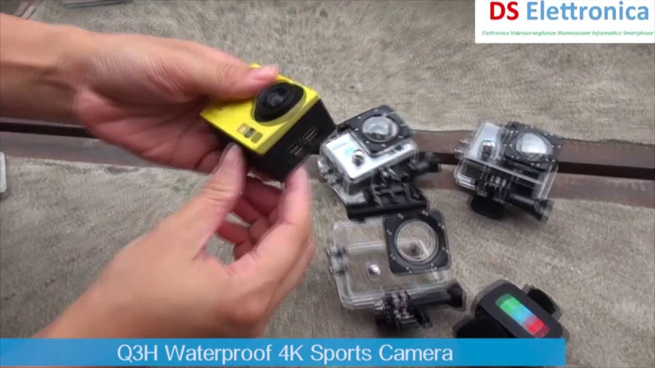 Action Camera Subacquea : Pro cam k sport wifi action camera ultra hd mpx videocamera