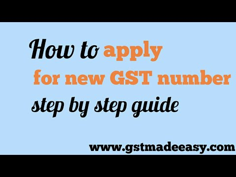 GST Registration process simplified