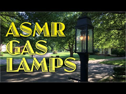 ASMR Gas Lamps (soft speaking, tapping, tinkering)