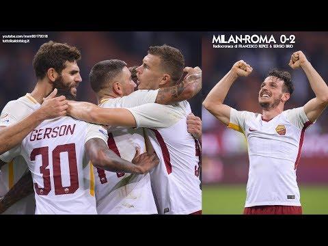 Milan-Roma 0-2 - Tutta la radiocronaca di Francesco Repice & Sergio Brio (1/10/2017) da Rai Radio 1