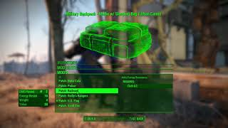 Fallout 4 Creation club military backpack worth it?