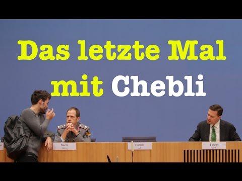 Cheblis letztes Mal - Komplette Bundespressekonferenz vom 9. Dezember 2016