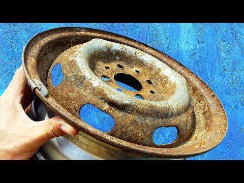 Что можно сделать из автомобильного диска! Идеи для дома и дачи!