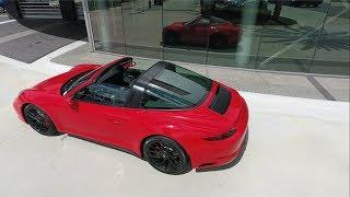 2017 Guards Red Porsche 911 Targa 4 GTS 450 hp @ Porsche West Broward