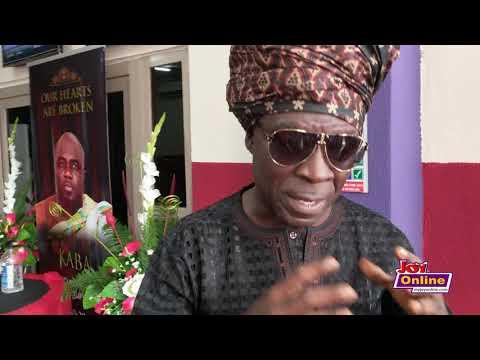 Kojo Antwi visits Multimedia, pays tribute to KABA