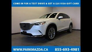 WHITE 2017 Mazda CX-9  Review Sherwood Park Alberta - Park Mazda