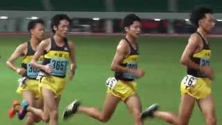諫早ナイター男子5000m 3組  2016 /09/ 24