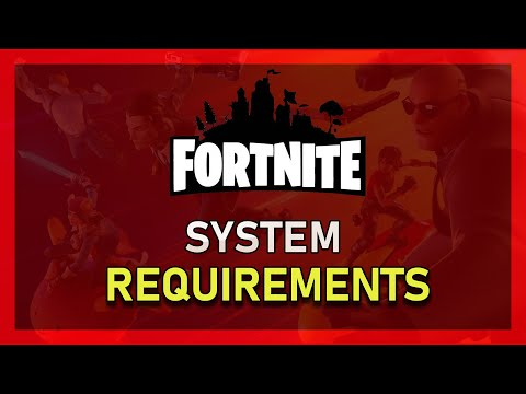 Fortnite - Mac System Requirements (Minimum & Recommended)
