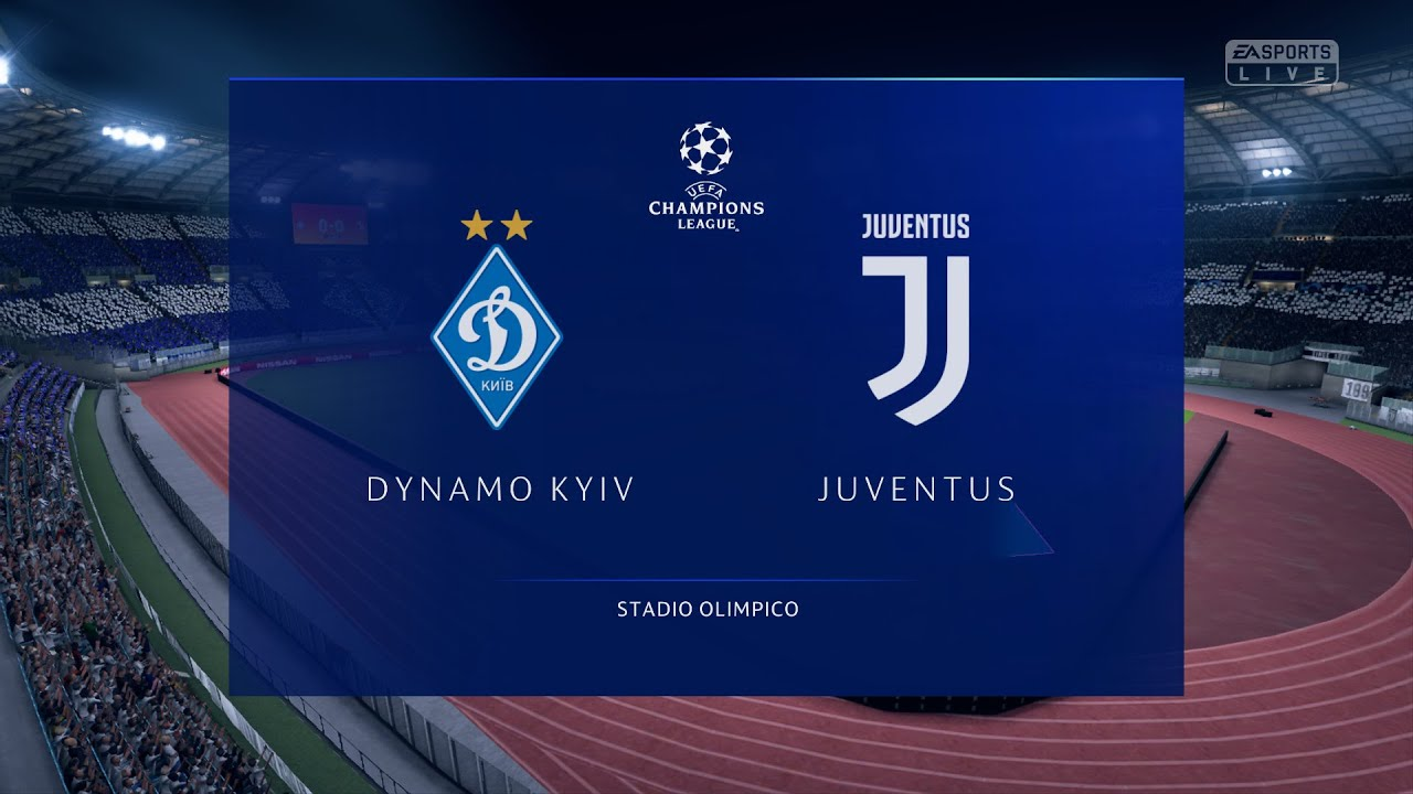 dynamo kyiv juventus uefa champions league 2020 2021 football pes 2020 youtube dynamo kyiv juventus uefa champions league 2020 2021 football pes 2020