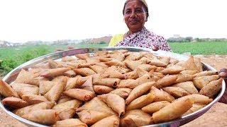 Onion Samosa Recipe | Samosa Recipe | Famous Indian Street Food  By Our Grandma