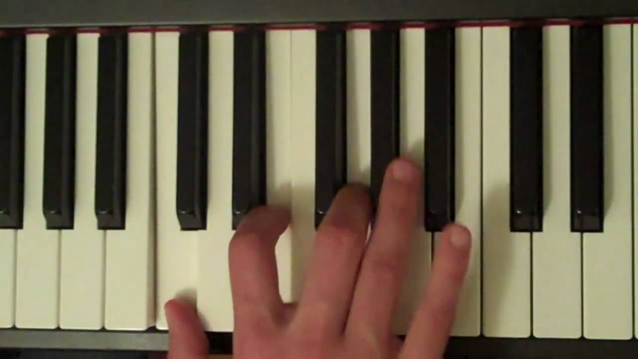 How to play a c7 chord on piano youtube hexwebz Gallery