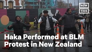 New Zealanders Perform Haka at Black Lives Matter Protest | NowThis