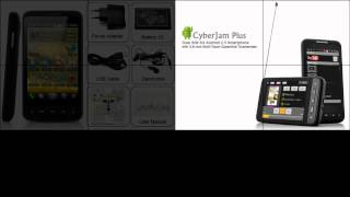 Dual SIM 3G Android 2.3 Smartphone with 3.8 Inch Multi-Touch Capacitive Touchscreen