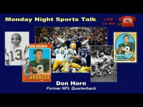 Don Horn - Former NFL Quarterback