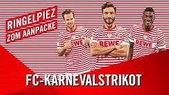 FC-Karnevalstrikot: Ringelpiez zom Aanpacke | 1. FC Köln