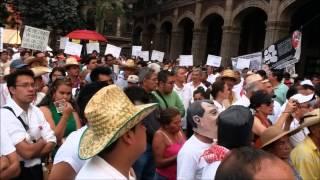 Marcha contra la inseguridad 1 de Abril de 2014, Cuernavaca Morelos.