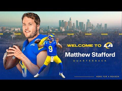 Welcome to LA, Matthew Stafford - YouTube