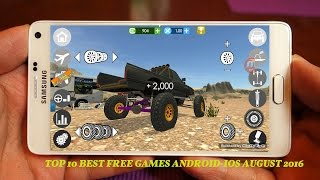 TOP 10 BEST FREE GAMES ANDROID-IOS PLAY IN AUGUST 2016 N°2