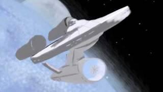 Starship Enterprise - iphone Brushes app drawing