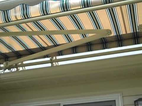 DIFFICULT INSTALL THINK YOU CANT PUT A RETRACTABLE AWNING ON YOUR HOME