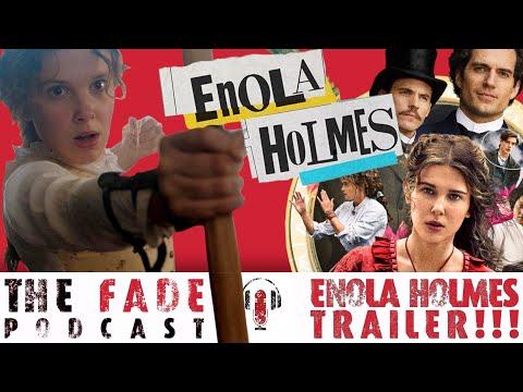 Enola Holmes Trailer (REACTION)