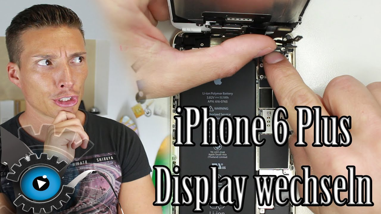 iphone 6 plus glas display wechseln tauschen unter 5 minuten reparieren deutsch part 3 youtube. Black Bedroom Furniture Sets. Home Design Ideas