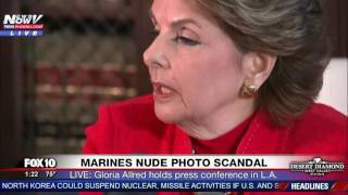 FNN: Marines Nude Photo Scandal - FULL PRESS CONFERENCE (with Attorney Gloria Allred)