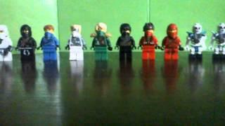 Обзор на минифигурки из лего ниндзяго #2 часть