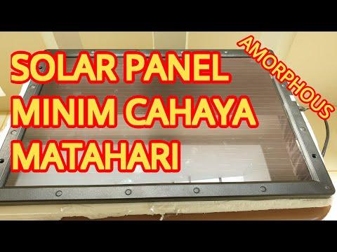 Review & Unboxing Amorphous Solar Panel | Thin Film | Bukan Monocrystalline & Polycrystalline