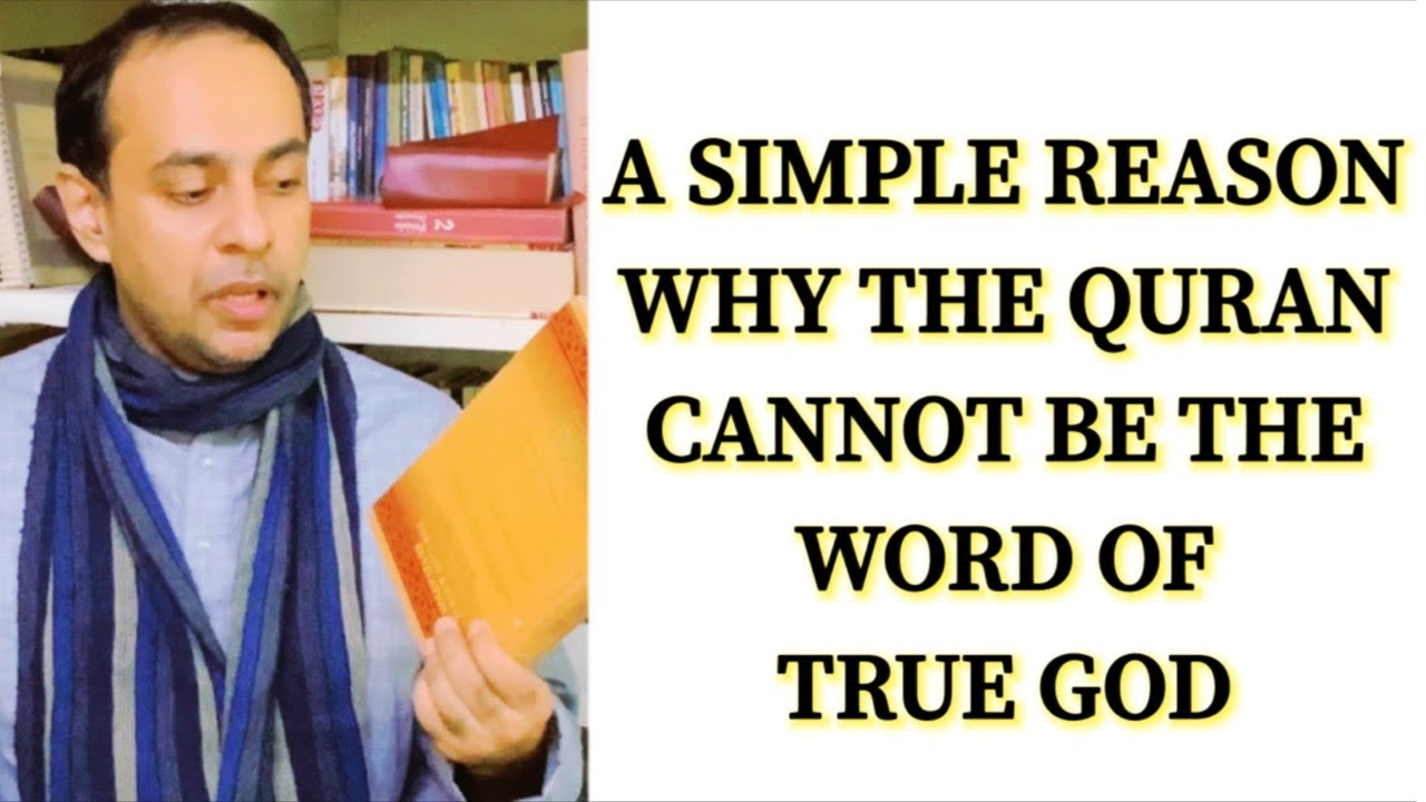 Download A SIMPLE REASON WHY THE QURAN CANNOT BE THE WORD OF TRUE GOD / Br. MARIO JOSEPH