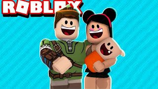 I BECAME A FATHER FOR A DAY AT ROBLOX!! (¡ADOPTA ME!)