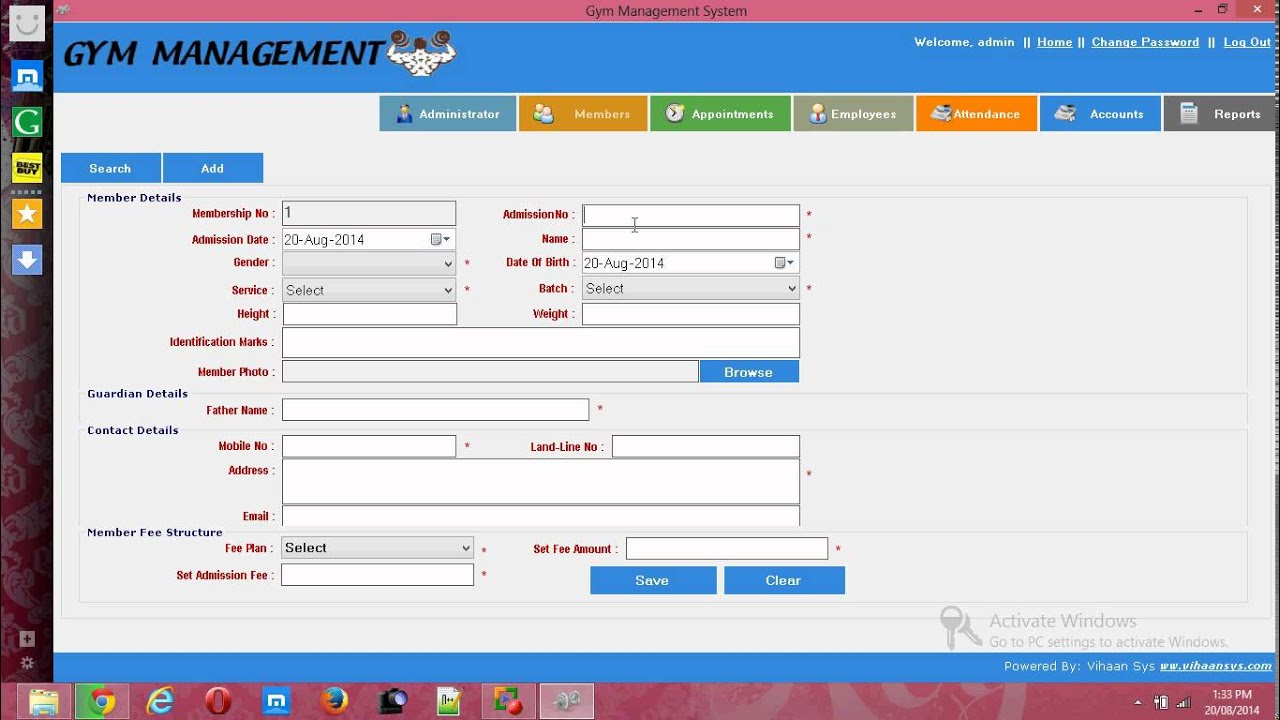 Gym Management software - YouTube