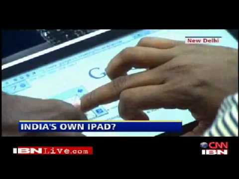 India unveils $30 tablet PC (Android)
