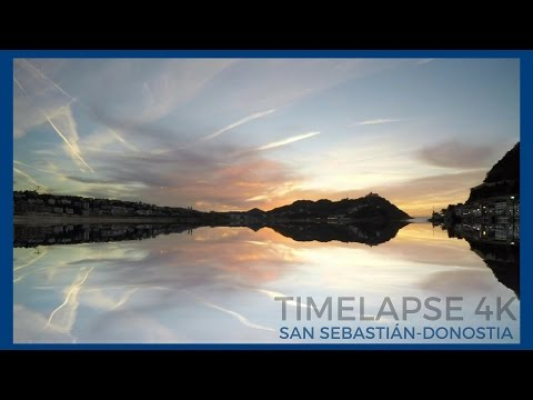 Timelapse SAN SEBASTIAN -- DONOSTIA  4k-UHD Travel Spain