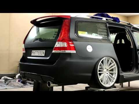 Mattssons Volvo v70 II rwd t6 twinturbo elmia 2017