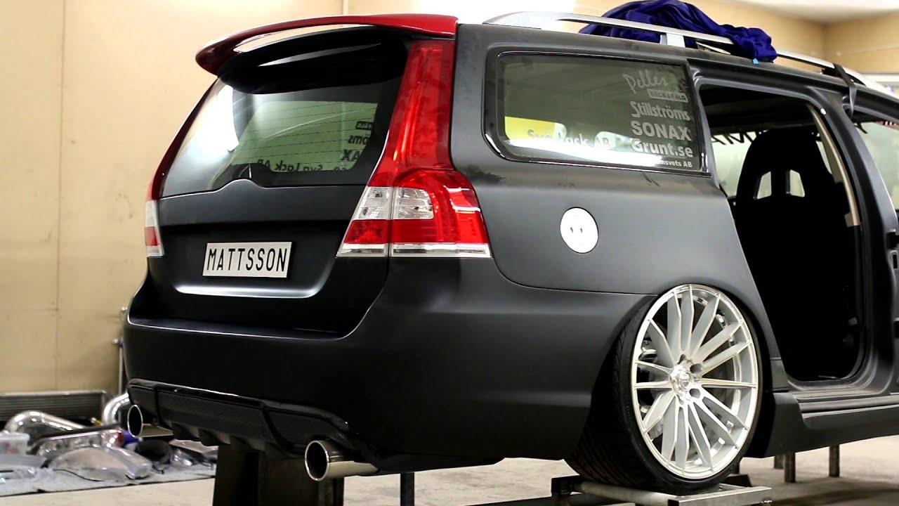 Get A Car With No Credit >> Mattssons Volvo v70 II rwd t6 twinturbo elmia 2017 - YouTube