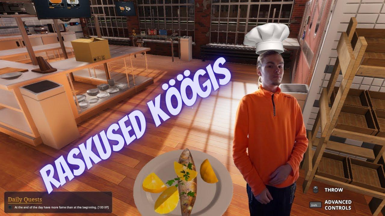 "Cooking simulator PC Episode 3""Raskused köögis"""