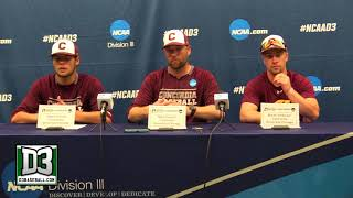 2018 D-III World Series Game 12: Concordia-Chicago postgame