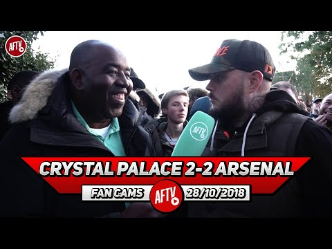 Crystal Palace 2-2 Arsenal | Zaha Is A Cheat It Was A Blatant Dive !! (DT)