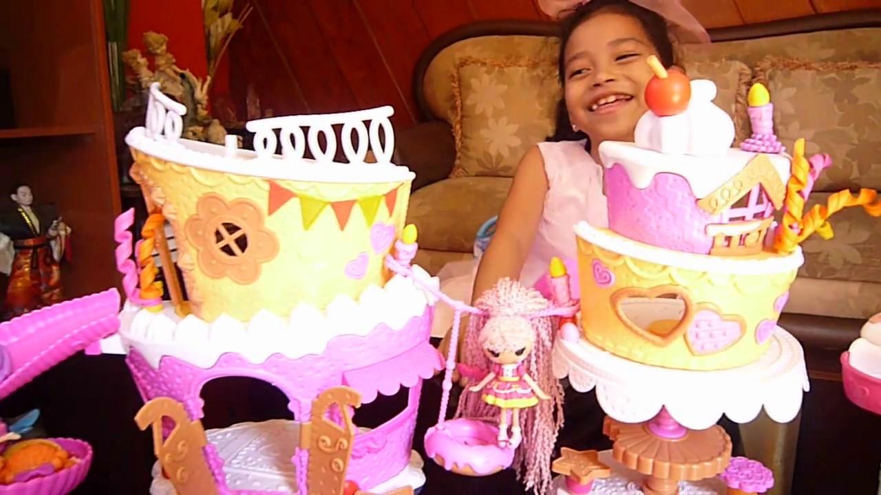 Lalaloopsy Musical Dollhouse Cake Youtube