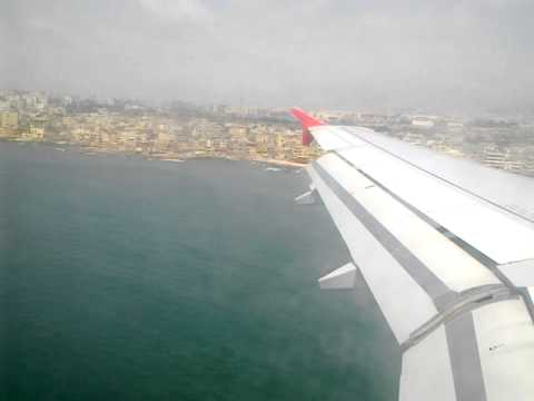Landing to beautiful country  Beirut
