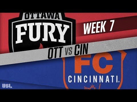 Ottawa Fury FC vs FC Cincinnati: April 28, 2018