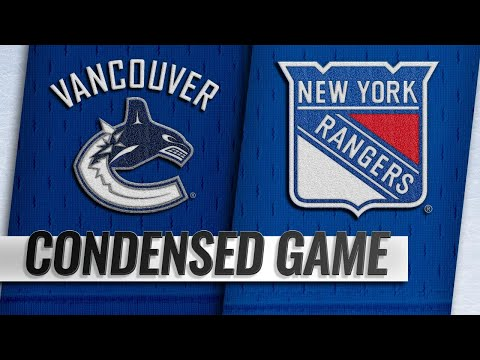 11/12/18 Condensed Game: Canucks @ Rangers