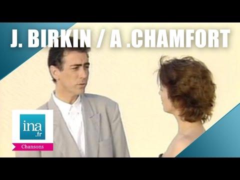 Jane Birkin et Alain Chamfort